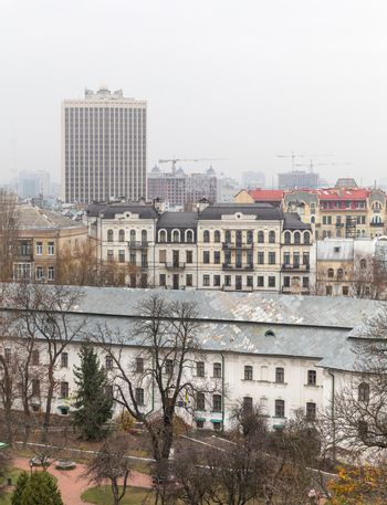 Roofs of old Kyiv