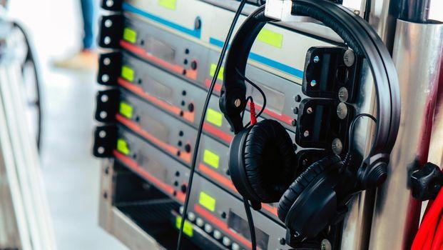 film crew production equipment
