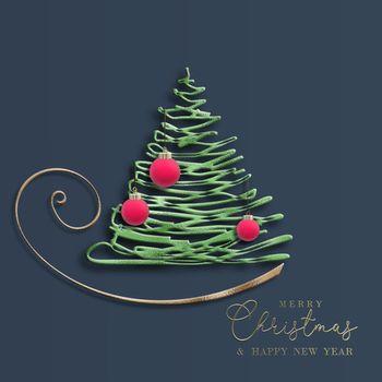Christmas 2022 New Year card