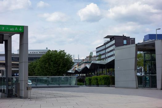 the design of square and place in the public space