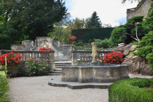Gardens of Castle Ksiaz