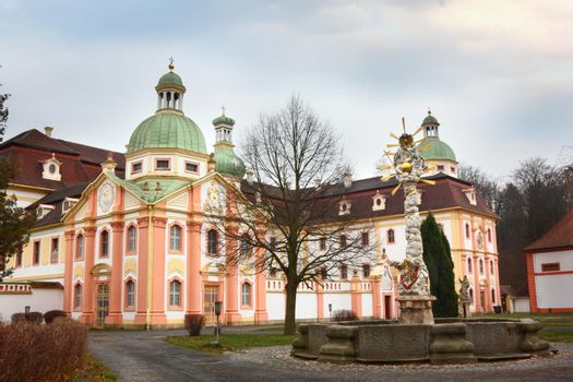 Monastery of St. Marienthal in Ostritz, Germany