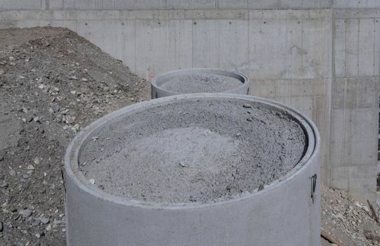 sewer construction in hydraulic engineering for water and wastewater supply