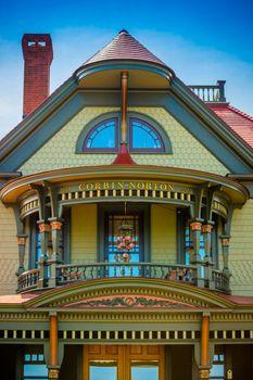 Cape Cod Marthas Vineyard, MA, USA - Sept 4, 2018: A classic and beautiful The Corbin Norton House