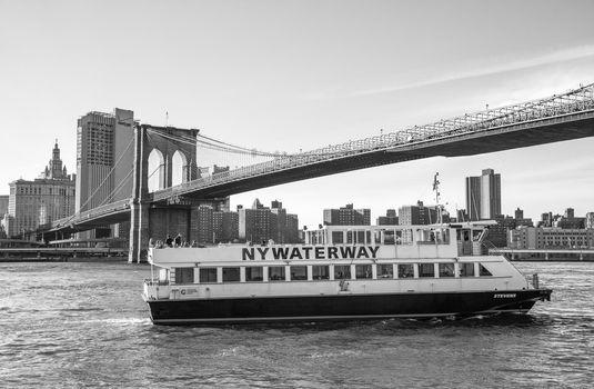 NY Waterway Boat at Lower Manhattan