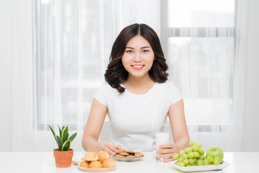 Women prepare some bread for breakfast