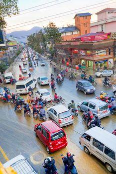 Street Scene, Kathmandu, Nepal