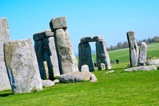 Neolithic Ruins Stonehenge, Salisbury, Great Britain