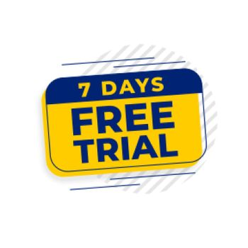 7 days free trial access background