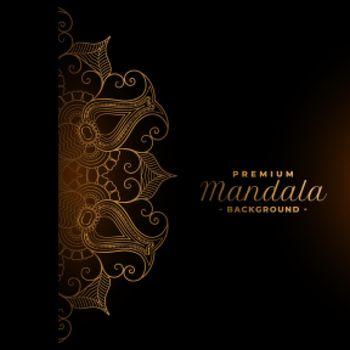 ethnic premium mandala design background