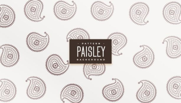 nice ethnic paisley pattern texture background