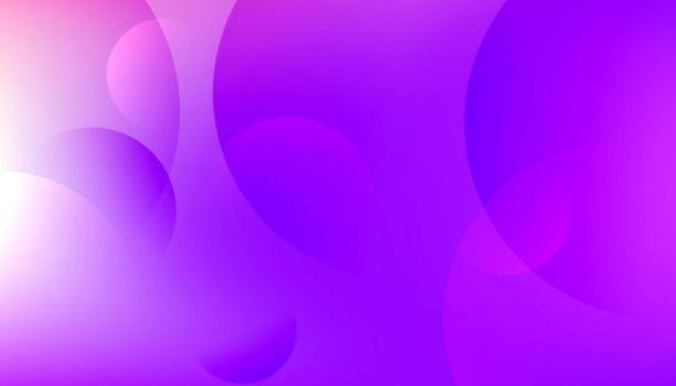 shiny purple circles modern background