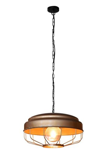 Hanging lamp isolated.