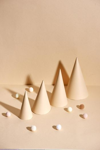 Christmas trees from paper, cards holiday, handmade