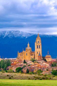 Cityscape View, Segovia, Spain