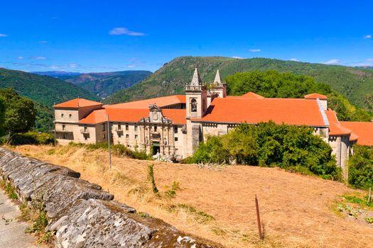 Monastery of San Estevo de Ribas de Sil, Orense, Spain
