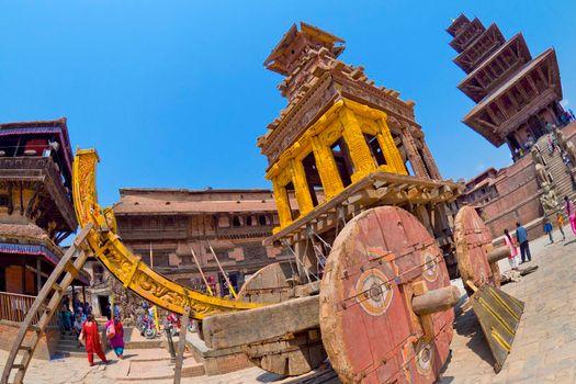 Durbar Square, Bhaktapur, Kathmandu, Nepal