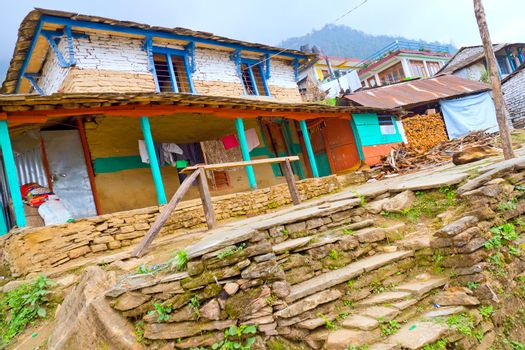 Small Village, Annapurna Conservation Area, Himalaya, Nepal