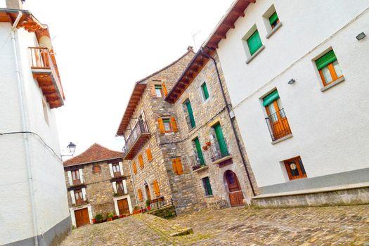 Street Scene, Ansó, Spain
