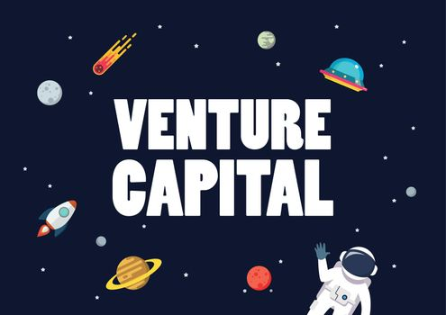 Venture capital with space background