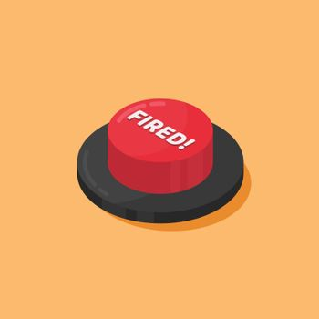 Red Fired button