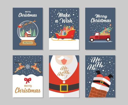 Christmas gift cards collection