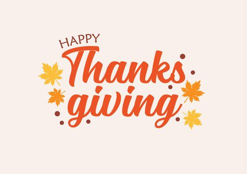 Happy Thanksgiving Day typography vector design