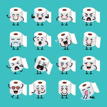 Tissue paper emoji set