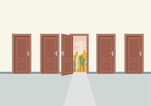 Choosing the right door to wealth