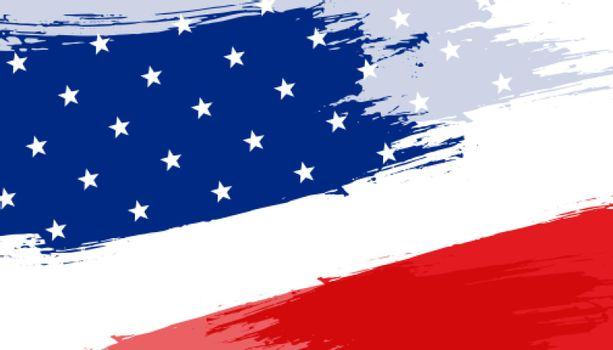 abstract american flag background design