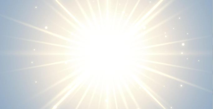 glowing background with bursting rays