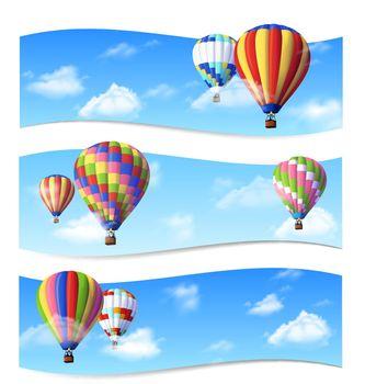 Air Balloon Banners