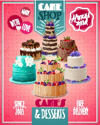 Baked Cakes Poster