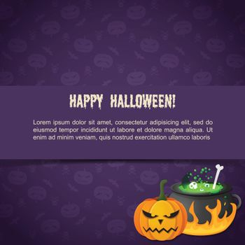 Abstract Festive Halloween Template