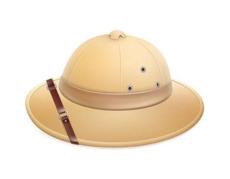 Beige safari hat