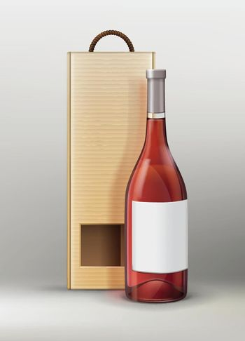 Bottle with packing