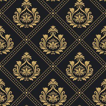 Victorian regal pattern seamless baroque