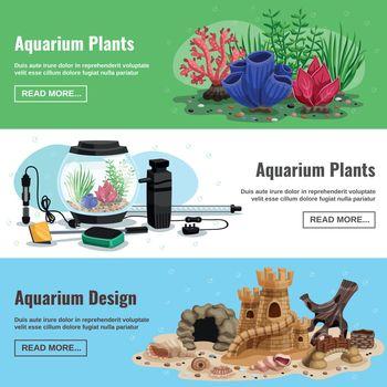 Aquarium Horizontal Banners