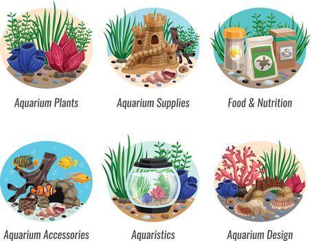 Aquarium Compositions Set