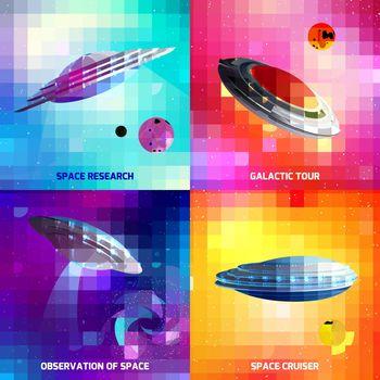 Alien Spaceship Design Concept