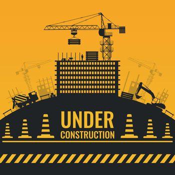 Under Construction Silhouettes Design