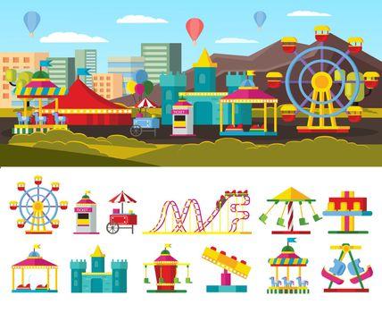 Urban Amusement Park Concept