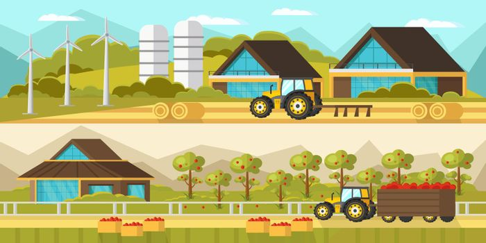 Agricultural Horizontal Banners