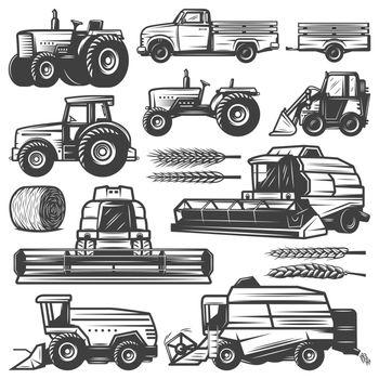 Vintage Harvesting Transport Collection