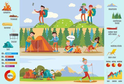 Backpacking And Hiking Brochure