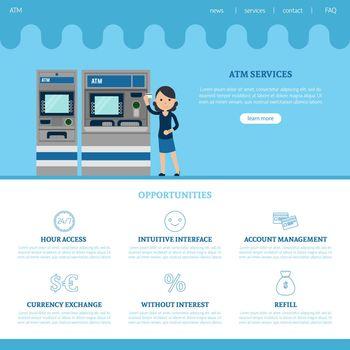 Bank Landing Page Template