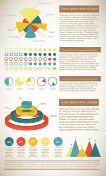 Vintage Infographics Elements