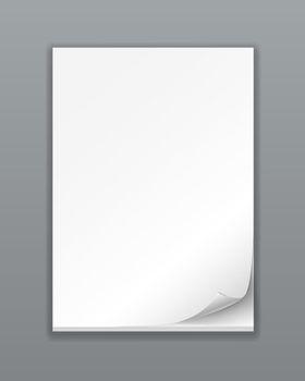 Empty Paper Stack