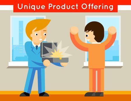 Unique product offering