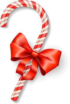 Vector christmas candy